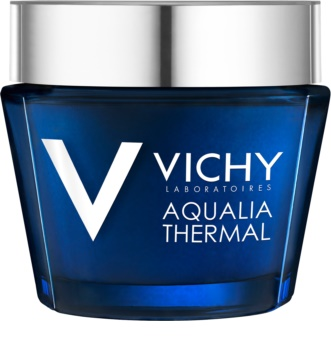 Vichy Aqualia Thermal Spa cuidado intensivo hidratante de noite contra marcas de cansaço