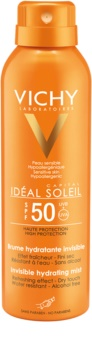 Vichy Capital Soleil unsichtbares, feuchtigkeitsspendendes Spray SPF 50