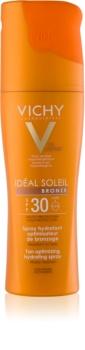 Vichy Idéal Soleil Bronze spray hidratant pentru un bronz optim SPF 30