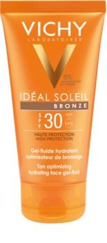 Vichy Idéal Soleil Bronze Hydraterende Gezichts Gel Fluid voor Optimaliseren van Bruinen  SPF 30
