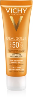 Vichy Idéal Soleil Protective Cream for Liver Spots SPF 50+