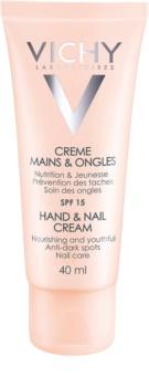 Vichy Hand & Nail crema nutritiva para manos y uñas de manchas profundas