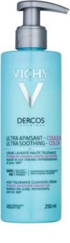 Vichy Dercos Ultra Soothing zklidňující čisticí krém pro barvené a citlivé vlasy