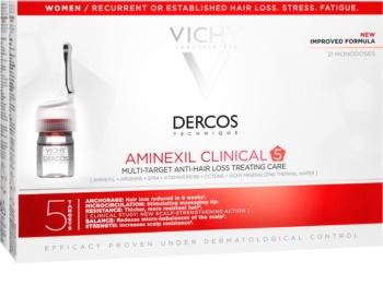 Vichy Dercos Aminexil Clinical 5 gezielte Pflege gegen Haarausfall für Damen