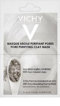 Vichy Mineral Masks mascarilla facial limpiadora de arcilla pack pequeño
