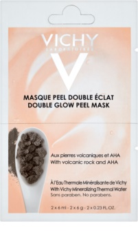 Vichy Mineral Masks rozjasňující pleťová peelingová maska malé balení
