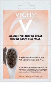 Vichy Mineral Masks rozjasňujúca pleťová peelingová maska malé balenie