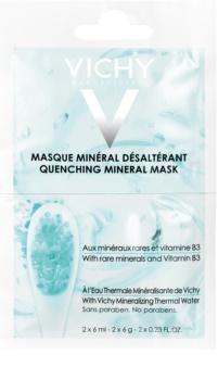 Vichy Mineral Masks máscara facial hidratante embalagem pequena