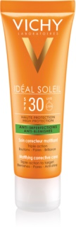 Vichy Idéal Soleil Capital Matte Sunscreen On Your Face for Oily and Combination Skin