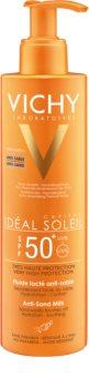 Vichy Idéal Soleil Capital opalovací mléko odpuzující písek SPF 50+