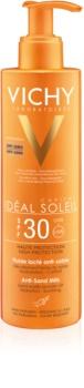 Vichy Idéal Soleil Capital opalovací mléko odpuzující písek SPF 30