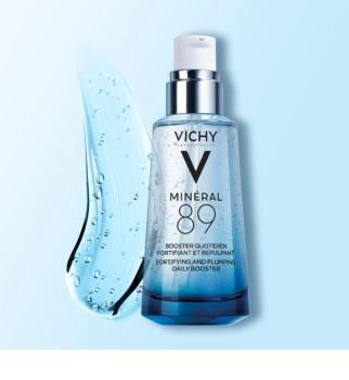 Vichy Minéral 89 krepilna poživitev za zapolnitev gub s hialuronsko kislino