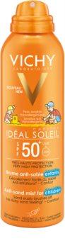 Vichy Idéal Soleil Capital spray suave de proteção e anti-areia para crianças SPF 50+