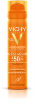 Vichy Idéal Soleil orzeźwiający spray do opalania twarzy SPF 50