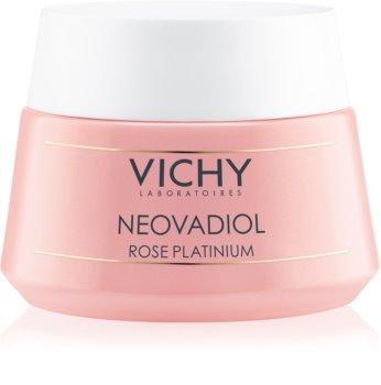 Vichy Neovadiol Rose Platinium crema de zi hranitoare si pentru stralucire pentru ten matur