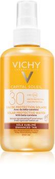 Vichy Idéal Soleil защитен спрей с бетакаротен SPF 30