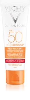 Vichy Idéal Soleil Anti-age crema protectoare impotriva imbatranirii pielii SPF 50
