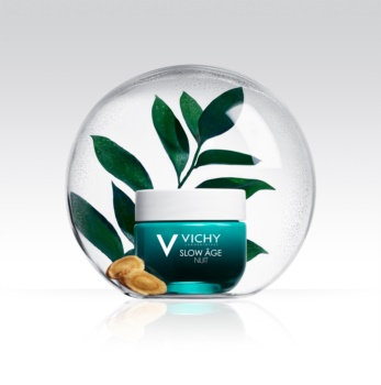 Vichy Slow Âge obnovitvena in oksigenacijska nočna nega