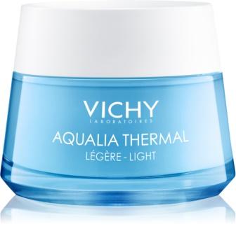 Vichy Aqualia Thermal Light könnyű hidratáló krém normál víz normál és kombinált, érzékeny bőrre