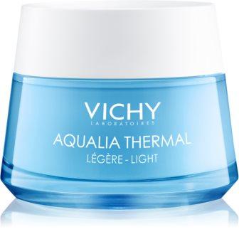 Vichy Aqualia Thermal Light lekki krem nawilżający do skóry wrażliwej, normalnej i mieszanej
