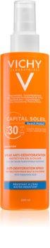 Vichy Capital Soleil Beach Protect multi protekční sprej proti dehydrataci pokožky SPF 30