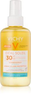 Vichy Idéal Soleil protetor solar em spray com ácido hialurónico SPF 30