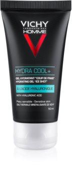 Vichy Homme Hydra Cool+ Feuchtigkeit spendendes Hautgel mit kühlender Wirkung