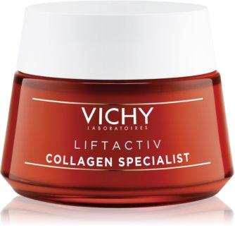 Vichy Liftactiv Collagen Specialist pomlađujuća krema s lifting učinkom protiv bora