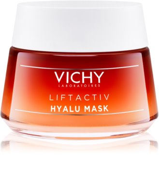 Vichy Liftactiv Collagen Specialist odnawiająca i wygładzająca maseczka do twarzy z kwasem hialuronowym