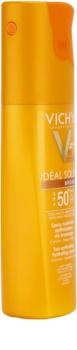 Vichy Idéal Soleil Bronze Hydraterende Spray voor Optimaliseren van de Bruining  SPF 50+