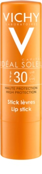 Vichy Idéal Soleil Capital Stick para proteger as zonas sensíveis e lábios SPF 30