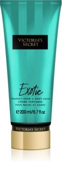 Victoria's Secret Exotic telový krém pre ženy 200 ml