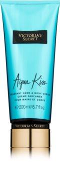 Victoria's Secret Aqua Kiss creme corporal para mulheres 200 ml