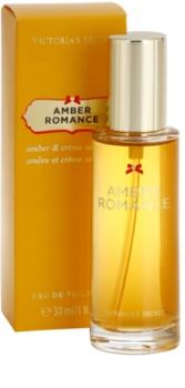 Victoria's Secret Amber Romance Amber & Créme Anglaise  eau de toilette per donna 30 ml