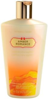 Victoria's Secret Amber Romance Amber & Créme Anglaise lotion corps pour femme 250 ml