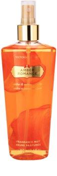 Victoria's Secret Amber Romance Amber & Créme Anglaise  testápoló spray nőknek 250 ml