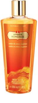 Victoria's Secret Amber Romance Amber & Créme Anglaise  sprchový gel pro ženy 250 ml