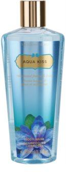 Victoria's Secret Aqua Kiss Rain-kissed Freesia & Daisy sprchový gel pro ženy 250 ml
