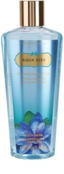 Victoria's Secret Aqua Kiss Rain-kissed Freesia & Daisy żel pod prysznic dla kobiet 250 ml
