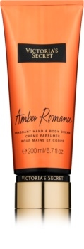 Victoria's Secret Amber Romance Körpercreme für Damen 200 ml