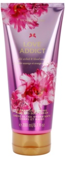 Victoria's Secret Love Addict Wild Orchid & Blood Orange creme corporal para mulheres 200 ml