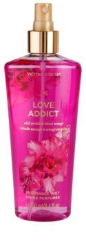 Victoria's Secret Love Addict Wild Orchid & Blood Orange spray corporal para mulheres 250 ml
