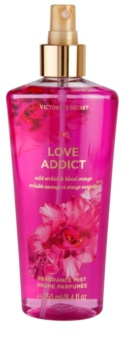 Victoria's Secret Love Addict Wild Orchid & Blood Orange spray de corpo para mulheres 250 ml