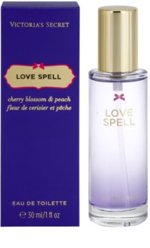 Victoria's Secret Love Spell Cherry Blossom & Peach Eau de Toilette für Damen 30 ml