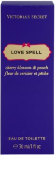 Victoria's Secret Love Spell Cherry Blossom & Peach Eau de Toilette voor Vrouwen  30 ml