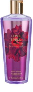 Victoria's Secret Love Spell Cherry Blossom & Peach sprchový gel pro ženy 250 ml