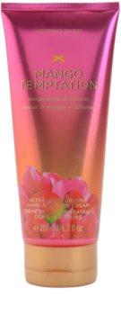 Victoria's Secret Mango Temptation Mango Nectar & Hibiscus tělový krém pro ženy 200 ml