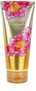 Victoria's Secret Secret Escape Sheer Freesia & Guava Flowers Bodycrème voor Vrouwen  200 ml