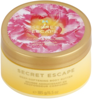 Victoria's Secret Secret Escape Sheer Freesia & Guava Flowers telové maslo pre ženy 185 g