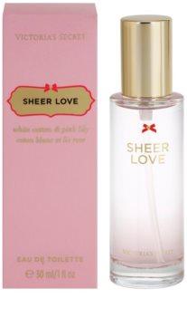 Victoria's Secret Sheer Love Eau de Toilette voor Vrouwen  30 ml
